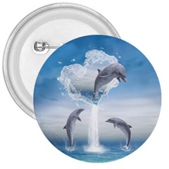 The Heart Of The Dolphins 3  Button