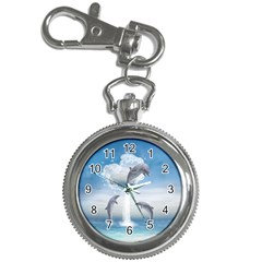 The Heart Of The Dolphins Key Chain & Watch