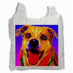 Happy Dog Recycle Bag (Two Sides)