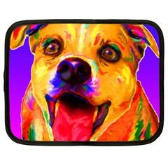 Happy Dog Netbook Case (xl)