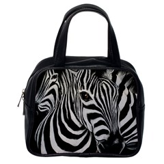 Zebra Classic Handbag (One Side)
