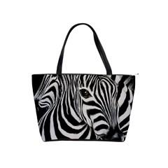 Zebra Large Shoulder Bag