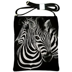 Zebra Shoulder Sling Bag