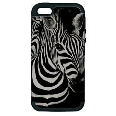 Zebra Apple iPhone 5 Hardshell Case (PC+Silicone)
