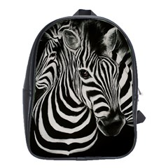 Zebra School Bag (xl)