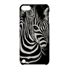 Zebra Apple Ipod Touch 5 Hardshell Case With Stand
