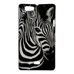 Zebra Sony Xperia Miro Hardshell Case