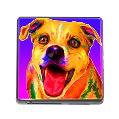 Happy Dog Memory Card Reader with Storage (Square)