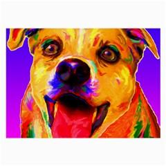 Happy Dog Glasses Cloth (large)
