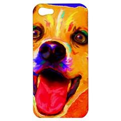 Happy Dog Apple iPhone 5 Hardshell Case