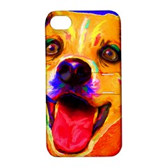 Happy Dog Apple iPhone 4/4S Hardshell Case with Stand