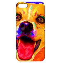 Happy Dog Apple iPhone 5 Hardshell Case with Stand