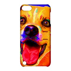 Happy Dog Apple Ipod Touch 5 Hardshell Case With Stand