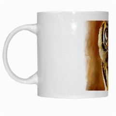 Tiger White Coffee Mug