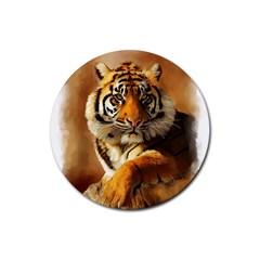 Tiger Drink Coaster (round)
