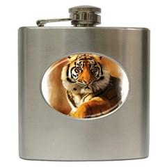 Tiger Hip Flask