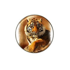 Tiger Golf Ball Marker (for Hat Clip)