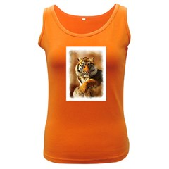 Tiger Womens  Tank Top (Dark Colored)