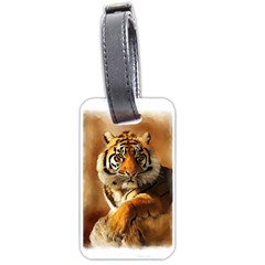 Tiger Luggage Tag (Two Sides)