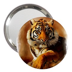 Tiger 3  Handbag Mirror