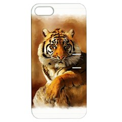 Tiger Apple Iphone 5 Hardshell Case With Stand