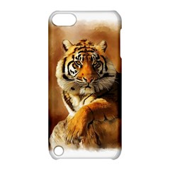 Tiger Apple Ipod Touch 5 Hardshell Case With Stand