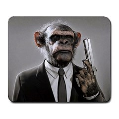 Monkey Business Large Mouse Pad (Rectangle)
