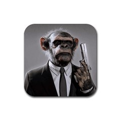 Monkey Business Drink Coaster (Square)