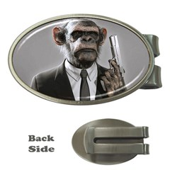Monkey Business Money Clip (oval)