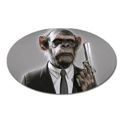 Monkey Business Magnet (Oval)