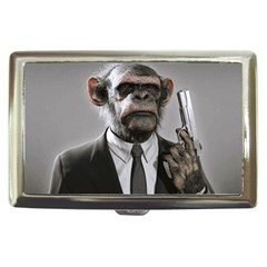 Monkey Business Cigarette Money Case