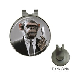 Monkey Business Hat Clip with Golf Ball Marker
