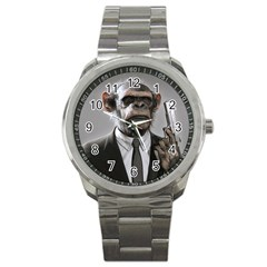 Monkey Business Sport Metal Watch