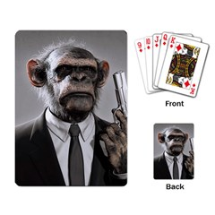 Monkey Business Playing Cards Single Design