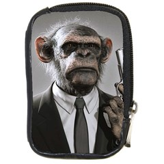 Monkey Business Compact Camera Leather Case