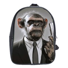 Monkey Business School Bag (Large)