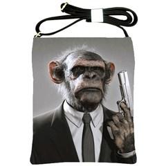 Monkey Business Shoulder Sling Bag