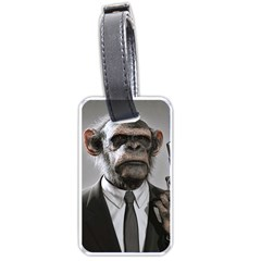 Monkey Business Luggage Tag (One Side)