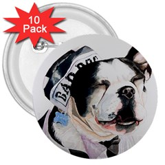 Bad Dog 3  Button (10 pack)