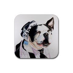 Bad Dog Drink Coasters 4 Pack (Square)