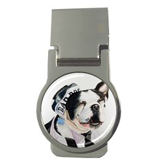 Bad Dog Money Clip (Round)