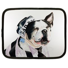 Bad Dog Netbook Case (Large)