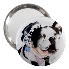 Bad Dog 3  Handbag Mirror