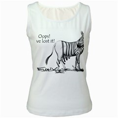 Lost Womens  Tank Top (white)
