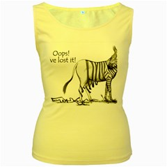 Lost Womens  Tank Top (yellow)