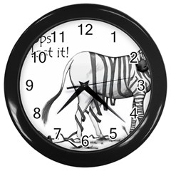 Lost Wall Clock (black)