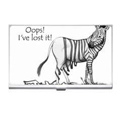 Lost Business Card Holder