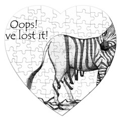 Lost Jigsaw Puzzle (Heart)