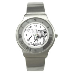 Lost Stainless Steel Watch (Unisex)