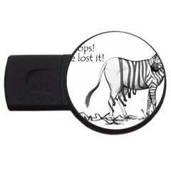 Lost 4GB USB Flash Drive (Round)